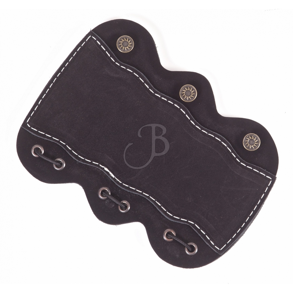 WILD MOUNTAIN LEDERARMSCHUTZ BUFFALO BLACK