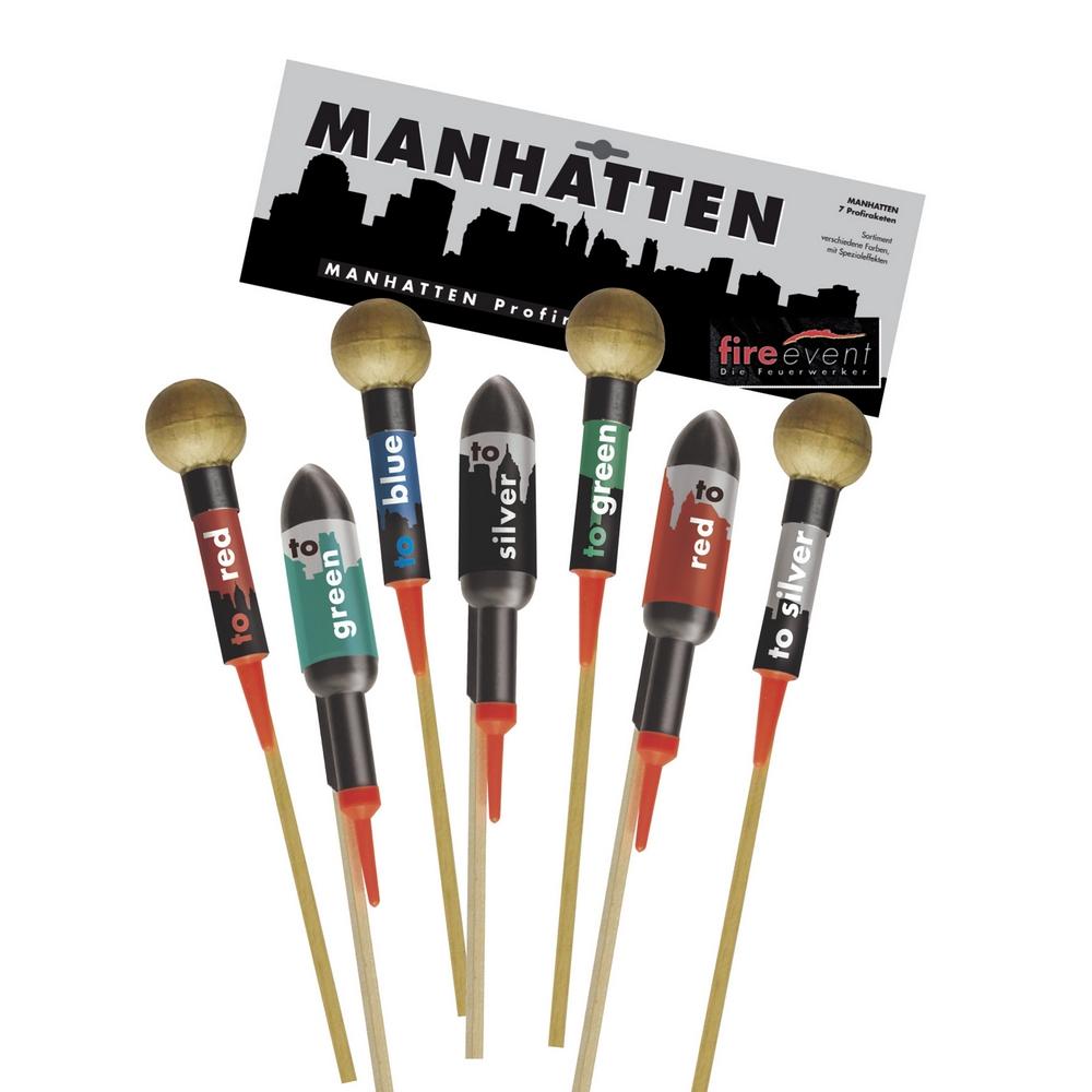 Raketensortiment Manhattan 7 Raketen